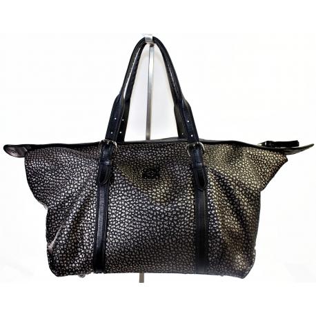 Silver Tone Loewe Vintage Handbag