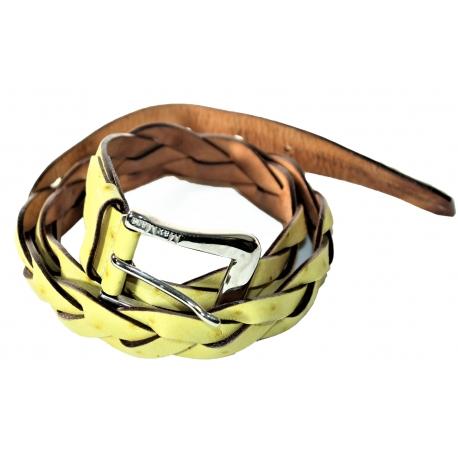 Cinturón Max Mara Amarillo