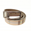 Burberry belt light tones