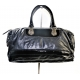 Gucci Black Patent Leather and Leather Vintage Handbag