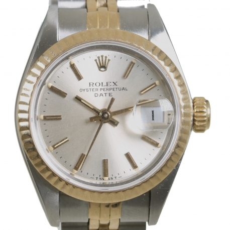 Rolex Date Sra Mixto ref 69173